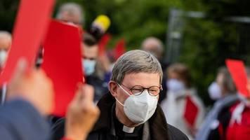 Köln: Kardinal Woelki will Neubeginn der kleinen Schritte