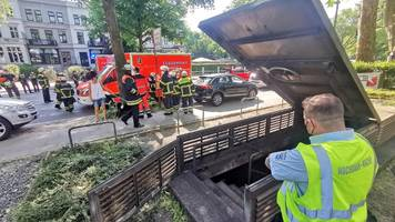 Kollision mit Hindernis im U-Bahn-Tunnel – Verletzte bei U-Bahn-Unfall in Hamburg