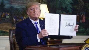 präsidentschaftswahl im iran: donald trumps fehler rächen sich jetzt