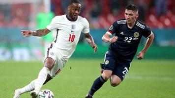 Fußball-EM 2021: Schottland erkämpft sich Remis gegen England