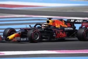 Formel 1 in Frankreich: Verstappen Schnellster im Abschlusstraining von Le Castellet