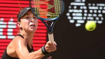 tennis-wta-turnier: schweizerin bencic erreicht finale in berlin