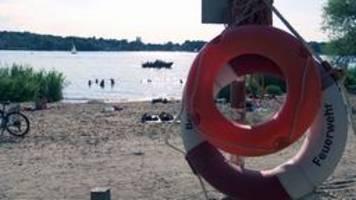 Dann wird es schnell gefährlich: Rettungsschwimmer in Sorge