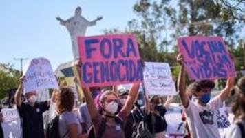 Mehr als 500.000 Tote: Proteste gegen Brasiliens Corona-Politik