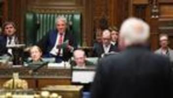 großbritannien: john bercow verlässt die johnson-partei