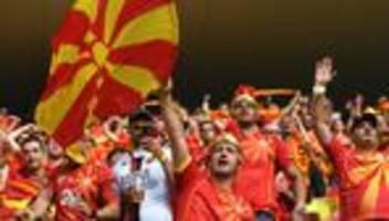nordmazedonien bei der em: gerade denkt niemand an das abkommen mit griechenland