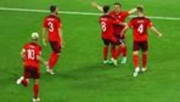 Fußball-EM: Schweiz gewinnt 3:1 gegen Türkei