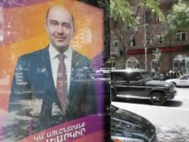 nach krieg um berg-karabach: armenien wählt ein neues parlament