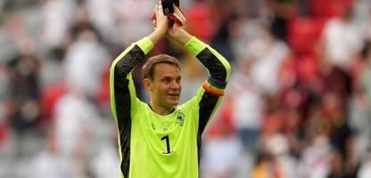 Fußball-EM 2021: Uefa prüft Regenbogen-Kapitänsbinde von Manuel Neuer