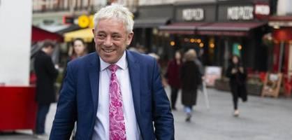 """zu viel """"populismus"""" – ex-""""speaker"""" john bercow wechselt zur labour-partei"""