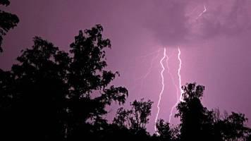 Hitzewelle: Hier wüteten heute Nacht schwere Unwetter