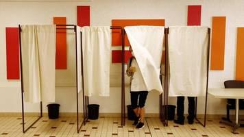erste runde: regionalwahlen in frankreich haben begonnen