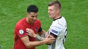 Pleite in München: Ronaldo beendet DFB-Fluch - Portugal trotzdem durchgefallen