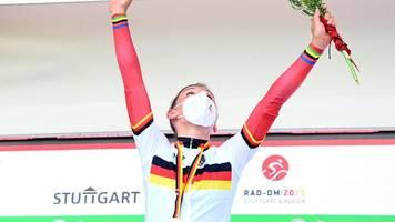 Titelkämpfe in Stuttgart - Rad-DM: Brennauer siegt auch im Straßenrennen