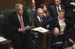 britischer ex-parlamentspräsident bercow wechselt zu labour