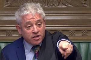 Ooooooorder! - Kultfigur John Bercow will Boris Johnson entmachten