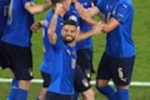 fußball-em 2021 - italien - wales im live-ticker: italien schon im achtelfinale, wales träumt noch