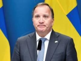 misstrauensvotum in stockholm: schwedische regierung gestürzt