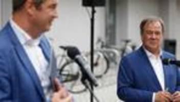 Livestream: Armin Laschet und Markus Söder zum Unions-Wahlprogramm