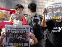 Behörden frieren Vermögen ein: Hongkonger Apple Daily steht vor dem Aus
