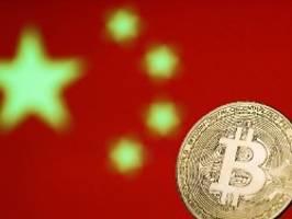 Kampf gegen Kryptowährungen: China greift gegen Bitcoin hart durch