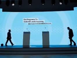 Steuern, Klima, Rente, Weltraum: Das steht im Unions-Wahlprogramm