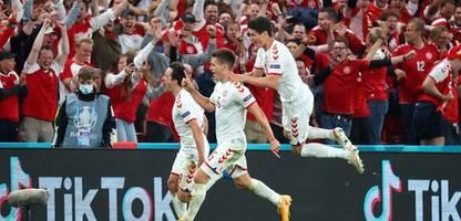 fußball-em 2021: dänemark im achtelfinale - wie im traum