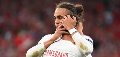 Fußball-EM 2021: Dänemark gewinnt gegen Russland und steht im Achtelfinale