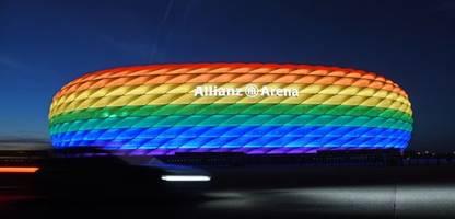 Fußball-EM 2021: Debatte über Münchner Stadion in Regenbogenfarben: »Sie wollen Orbán nicht brüskieren«