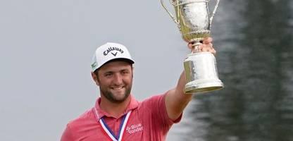 Golf: Jon Rahm macht gewinnt erstmals die U.S. Open