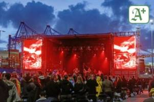 Im Hamburger Hafen: Konzerte in Hamburg: Neue Zeltphilharmonie für 4000 Gäste