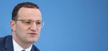 Gesundheitsminister Spahn über die Herausforderungen in der Corona-Krise