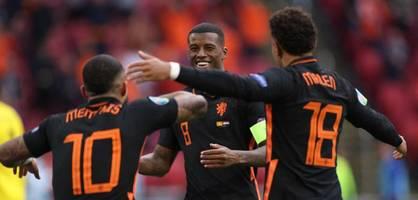 makellose gruppenphase – niederlande gewinnt auch gegen nordmazedonien