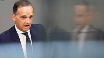 """bundesaußenminister: maas: """"wir brauchen ein update der migrationszusammenarbeit mit der türkei"""""""