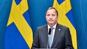 Politische Krise: Schwedischer Regierungschef Löfven verliert Misstrauensvotum