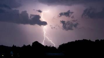 Wetterdienst warnt vor extremen Unwettern in Baden-Württemberg