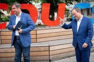 Laschet und Söder stellen gemeinsames Wahlprogramm vor