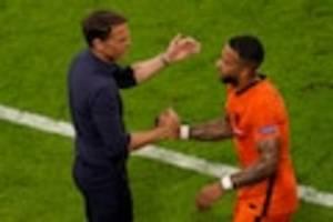 Fußball-EM - Nordmazedonien - Niederlande im Live-Ticker - Fußball-EM: Keine Experimente