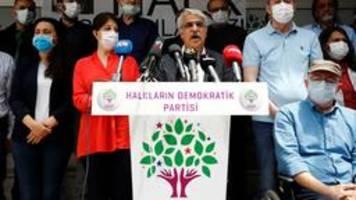 türkisches verfassungsgericht nimmt verbotsklage gegen hdp an