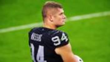 NFL: Erster Football-Profi macht Homosexualität öffentlich