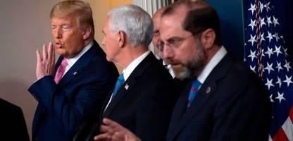 Corona-Virus: Donald Trump wollte infizierte US-Bürger nach Guantanamo schicken
