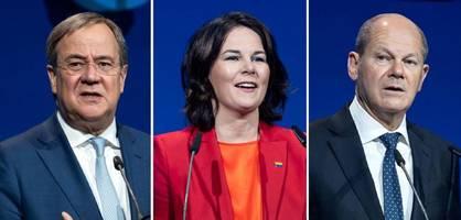 Die großen Versprechen der Kanzlerkandidaten