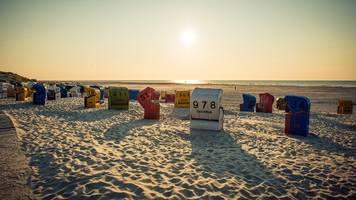 Diese zehn Traumstrände bieten die Nordsee und Ostsee