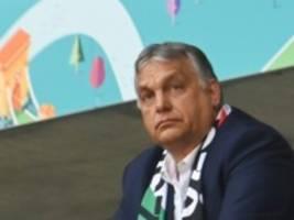 nach kontroverse um regenbogen-beleuchtung: orbán kommt nicht nach münchen