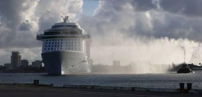 kreuzfahrtindustrie in den usa: streit um reisende und impfungen