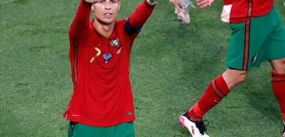 Fußball-EM 2021: Cristiano Ronaldo stellt Tor-Weltrekord ein