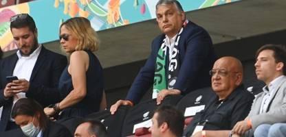Fußball-EM 2021: Viktor Orbán sagt offenbar Reise zum EM-Spiel Deutschland gegen Ungarn ab