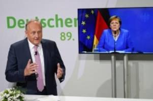 Agrarpolitik: Merkel für Dialog über Veränderungen in der Landwirtschaft