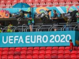 Fußball-EM 2021: Fast 26 Millionen TV-Zuschauer