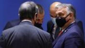 EU-Gipfel: Streit um Ungarn und Umgang mit Russland
